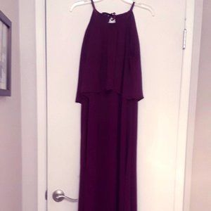 David's Bridal - Bridesmaid Dress - Sangria S12